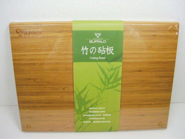 快樂屋? 牛頭牌 竹木砧板 加腳墊 (大) 42cm 型號:AJ1Z006