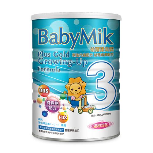 (新包裝) 佑爾康 貝親 新生代 金配方 幼兒 (1~3歲) 成長配方奶粉 900g