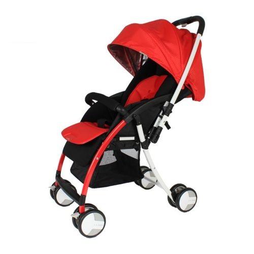 ★衛立兒生活館★L.A. Baby 美國加州貝比 超輕量 雙向嬰兒手推車-紅色