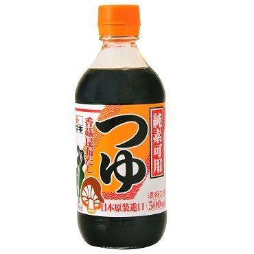 雅媽吉純素日式香菇濃縮醬油(500ml)