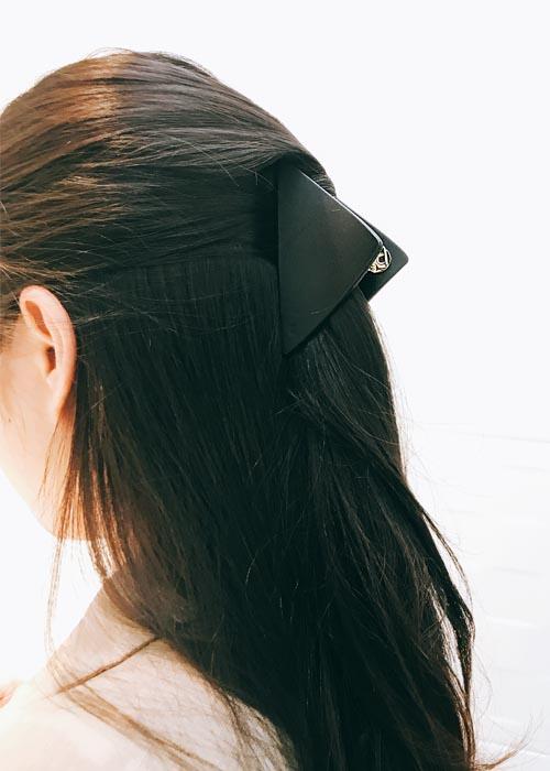 韓國飾品,三角形造型髮飾,鯊魚夾