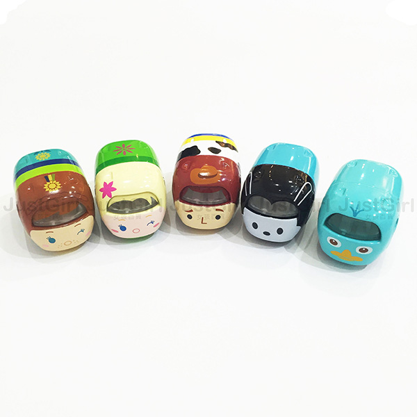 TOMY 玩具車 小汽車 TSUM TSUM 艾莎 安娜 鴨嘴獸泰瑞 胡迪 奧斯華 玩具 正版日本進口 JustGirl