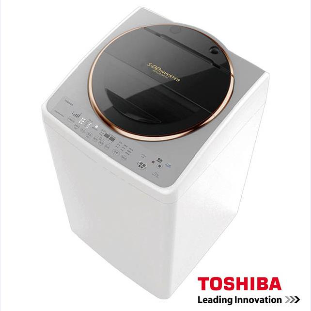 ★贈耐樂鍋★『TOSHIBA』☆ 東芝SDD變頻15公斤洗衣機 金鑽銀 AW-DME15WAG **免運費+基本安裝+舊機回收**