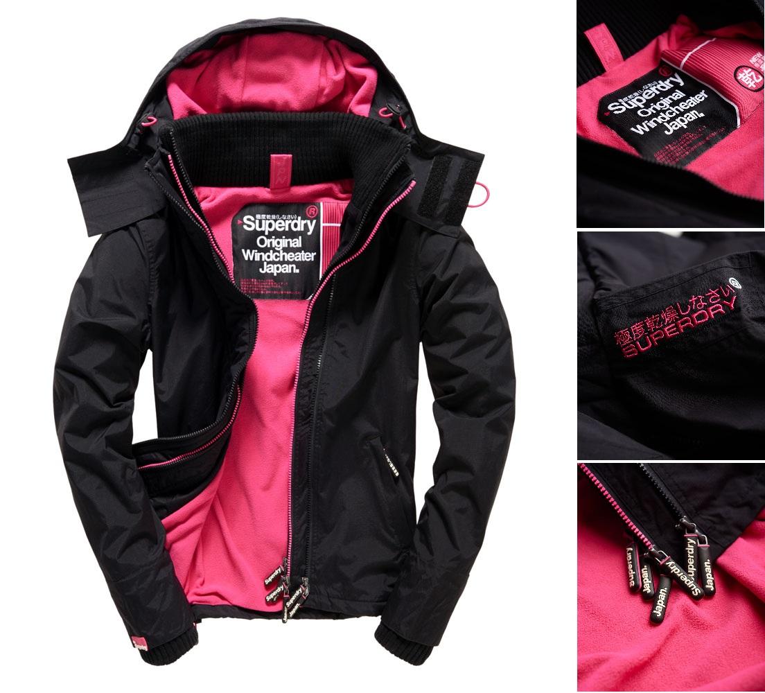 【女款】極度乾燥Superdry PopZip Hooded Arctic Windcheater連帽防風衣夾克風衣外套
