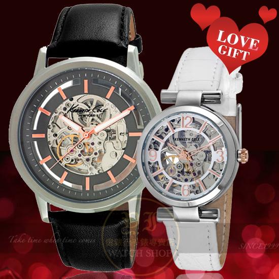 Kenneth Cole國際精品專屬我們的機械情人對錶KC10026782/KC10022296公司貨/設計師/禮物/精品