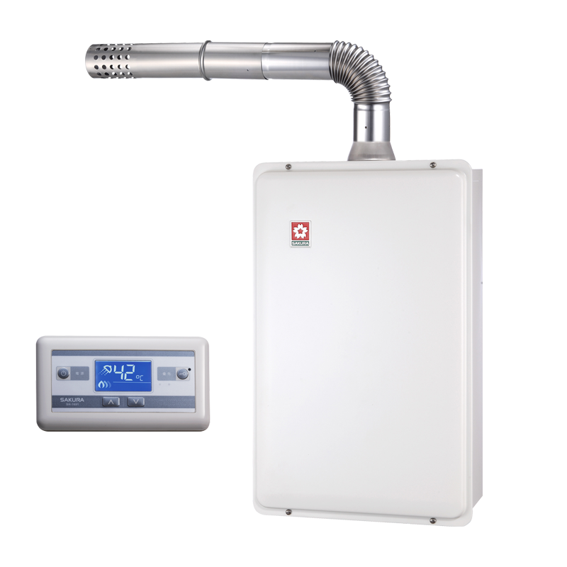 (櫻花)浴SPA數位恆溫熱水器16L-SH-1691