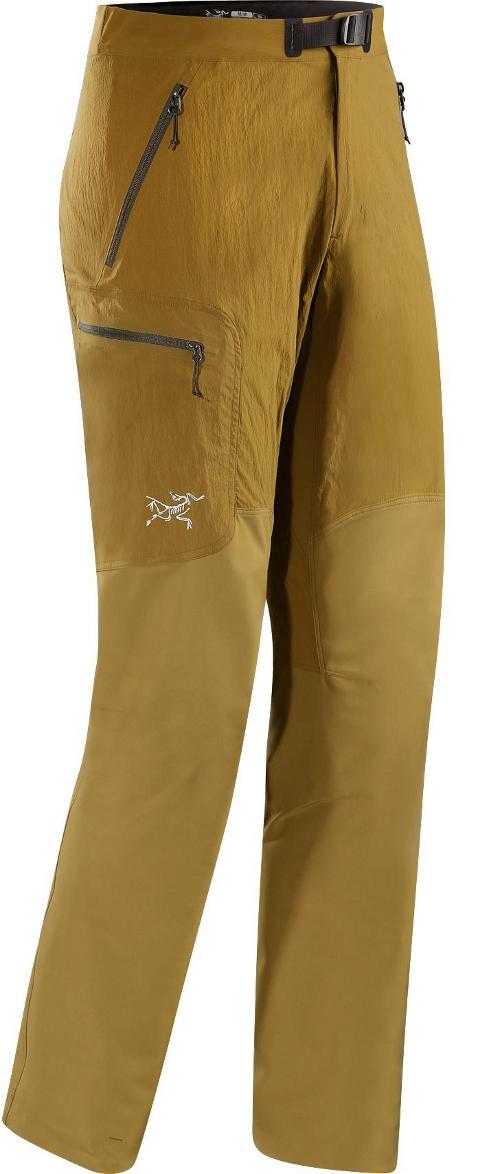 Arcteryx 始祖鳥 Gamma SL Hybrid 軟殼褲/登山褲/攀岩褲/排汗褲 男款 10246 苔沼褐