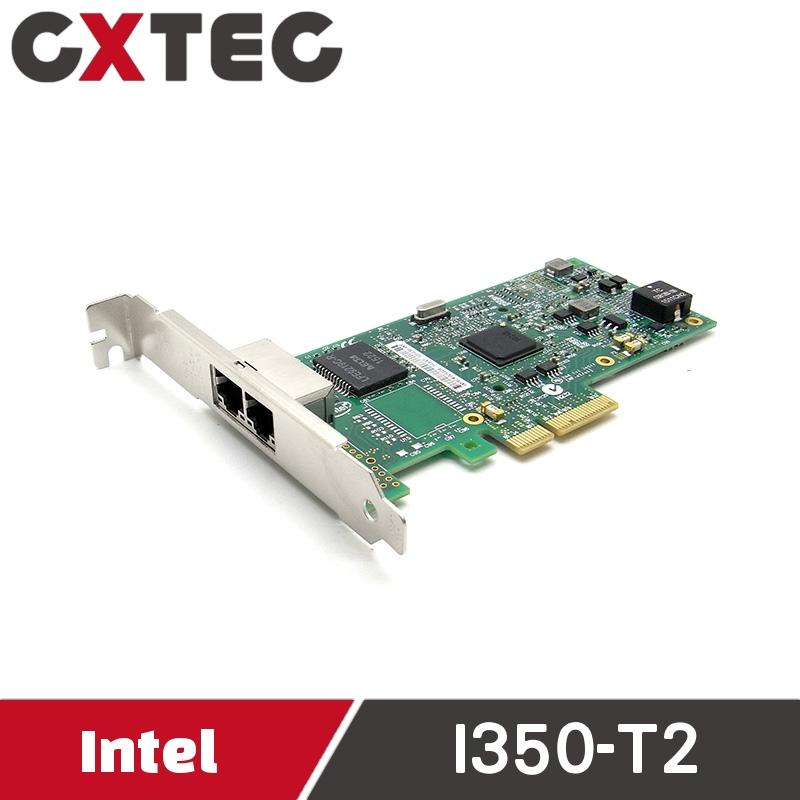 Intel Dual 2 Port 伺服器 PCI-E I350AM2 I350T2BLK 四埠 網路卡 I350-T2