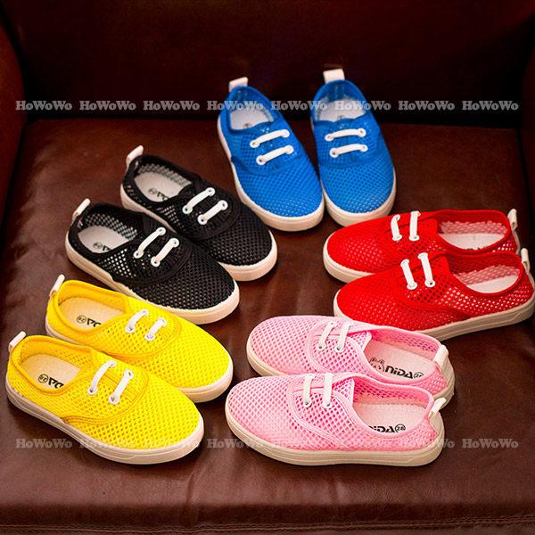 寶寶鞋 網眼布學步鞋/中童鞋 板鞋(16.5-19公分) KL1003