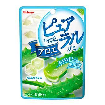 Kabaya卡巴蘆薈果實QQ糖(45g)