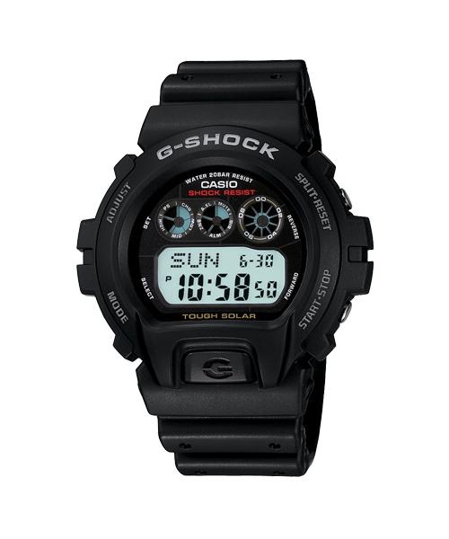 CASIO G-SHOCK G-6900-1經典太陽能數位腕錶/53*50mm