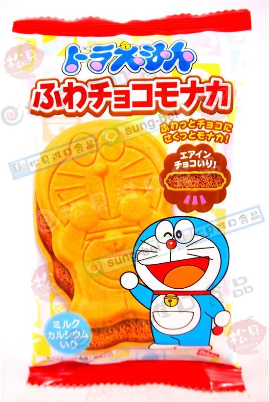 東鳩多啦A夢最中餅(巧克力)17g【4543112853509】