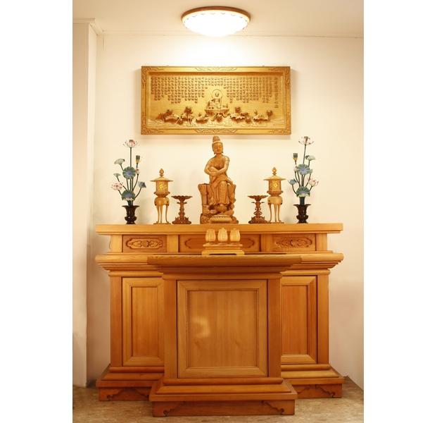 5.1尺 標準型佛桌(檜木)
