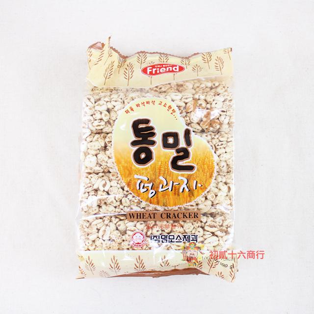 【0216零食會社】韓國長毛象mammos 小麥米香餅100g