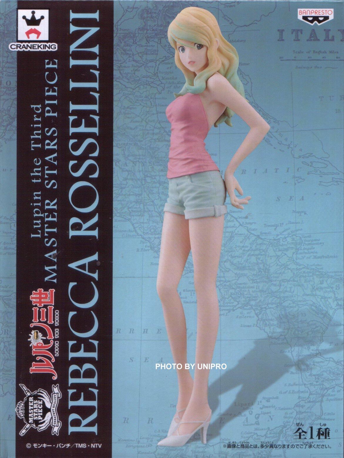 台灣代理版 MSP 單售 蕾貝卡 Rebecca Rossellini 魯邦三世 公仔 MASTER STARS PIECE GOEMON ISHIKAWA