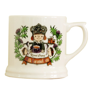 【Karel Capek 卡雷爾恰佩克 】英國馬克杯-焦糖奶茶 山田詩子/泡茶道具/Karel Capek