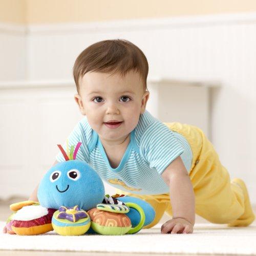 【奇買親子購物網】Lamaze 拉梅茲 嬰幼兒玩具-我的藍色八爪章魚