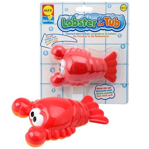 【奇買親子購物網】ALEX 愛洗澡的龍蝦