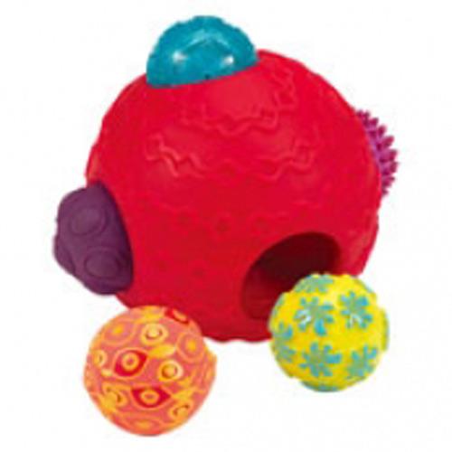 【奇買親子購物網】美國B.Toys 波麗觸覺感統球組
