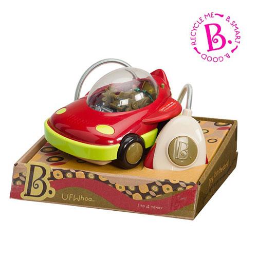 【奇買親子購物網】美國B.Toys 迴轉遙控車-幽浮