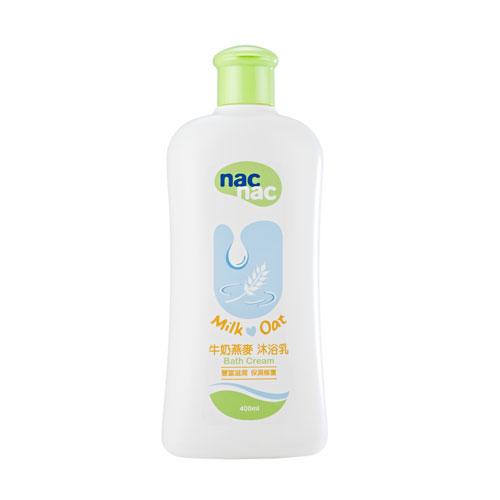 【奇買親子購物網】Nac Nac寶貝可愛牛奶燕麥沐浴乳 400ML