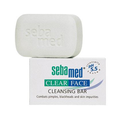 【奇買親子購物網】施巴 Sebamed 痘淨潔面皂 (100g)