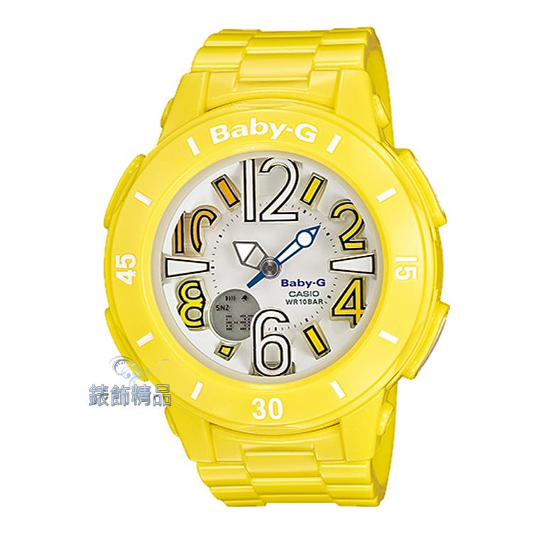 【錶飾精品】現貨CASIO卡西歐Baby-G海洋風BGA-170-9BDR螢光黃 全新原廠正品 生日情人節 聖誕禮物