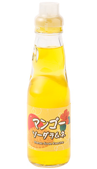 【富士飲料】童玩彈珠汽水-芒果風味(200ml)