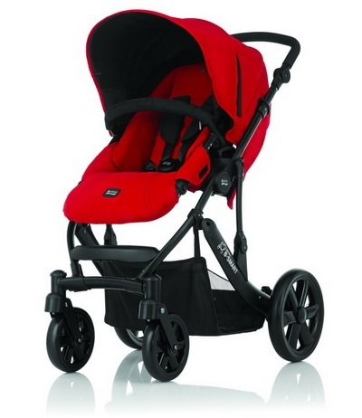 Britax - B-SMART 四輪雙向手推車 (紅) 加購Britax - Baby-Safe提籃享特價優惠!