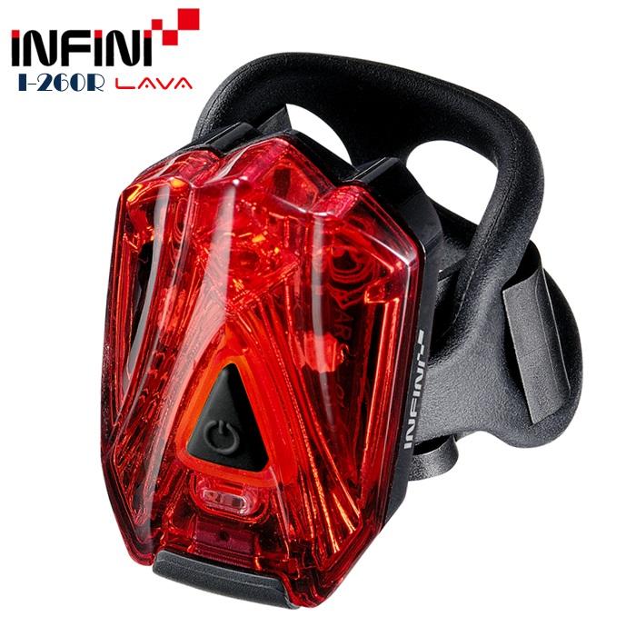 【7號公園自行車】INFINI LAVA I-260R 高亮度LED後燈 USB充電
