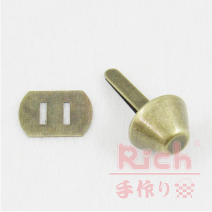 【原價14元,特價10元】裝飾扣B12-15mm古銅圓角扣