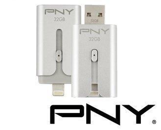 【PNY 必恩威】時尚金屬 Duo-Link S 32GB Apple IOS OTG雙推介面專用隨身碟