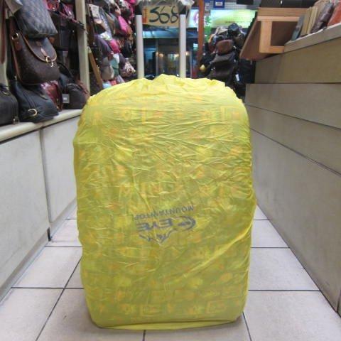 ~雪黛屋~EYE mountaintop 防水背包雨衣罩可用於後背包 行李箱 好收納有備無患最大可罩到28寸箱 大型