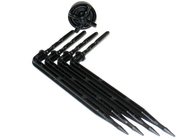 一分彎式滴劍(含一轉四分水器 )