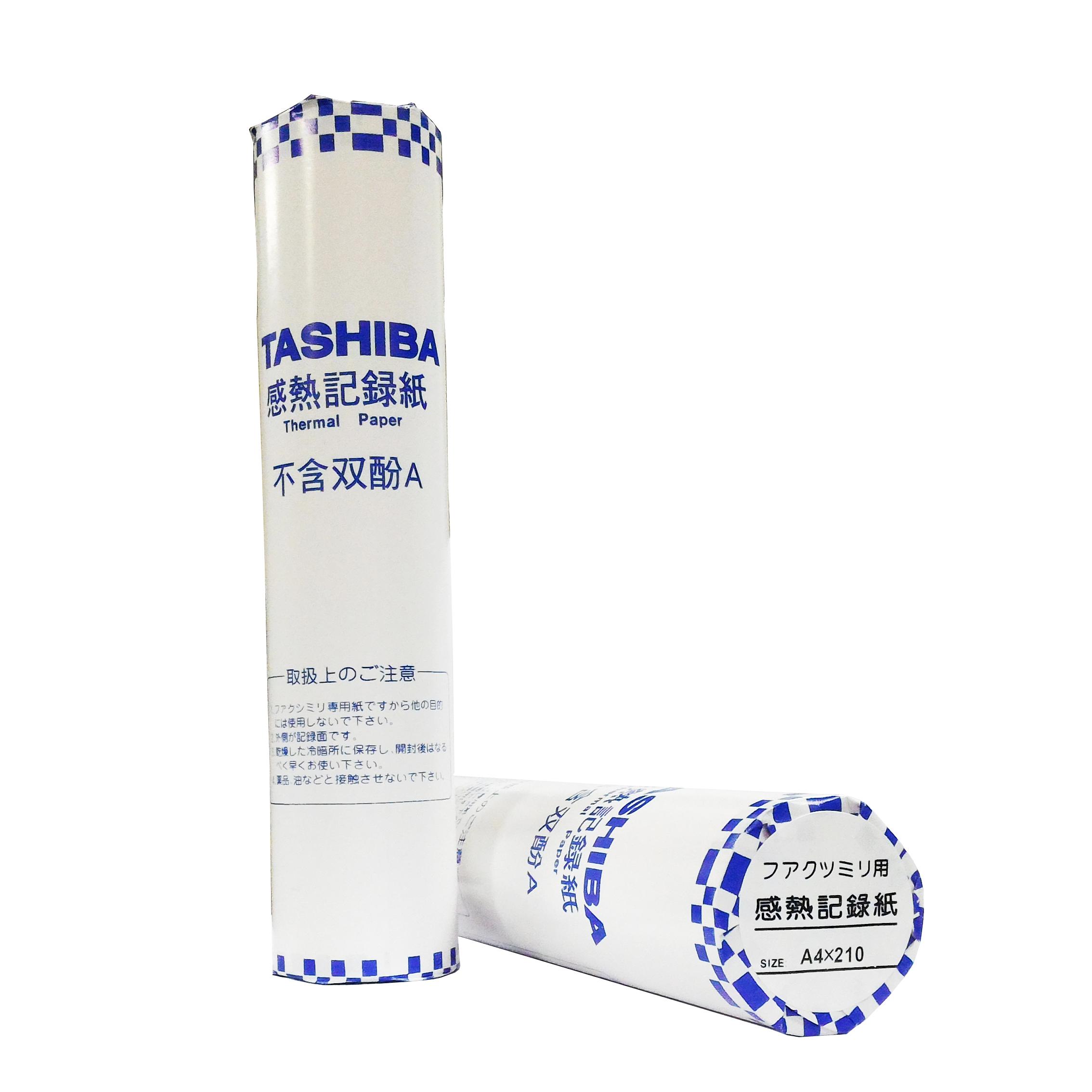 【文具通】文具通 TASHIBA A4 傳真紙 210x30 外感 P1080028