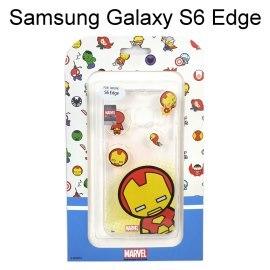復仇者透明軟殼 [主角系列] 鋼鐵人Samsung G9250 Galaxy S6 Edge【正版授權】