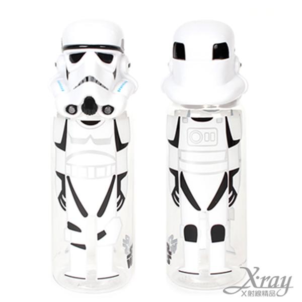 X射線【C055455】 星際大戰-頭型水壺,彈蓋水瓶/隨身瓶/飲水壺/外出水壺/防漏/單手操作