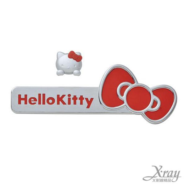 X射線【C864643】hello kitty 車用貼紙,汽車配件/車用必備