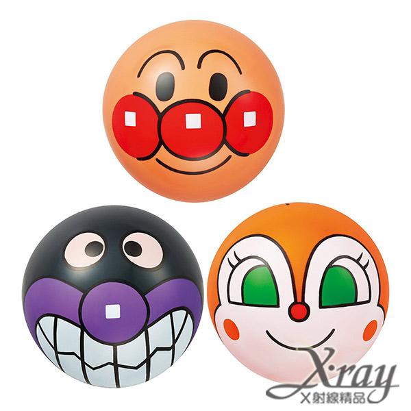 X射線【C311817】麵包超人 皮球(3入),兒童玩具/ 麵包超人/皮球