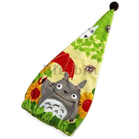 龍貓 包頭巾&浴帽/740-375
