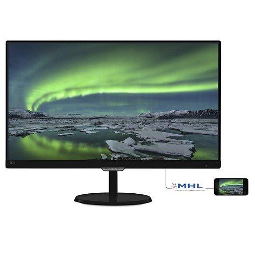 *╯新風尚潮流╭* PHILIPS飛利浦 27吋 E系列 LED液晶顯示器 MHL HDMI VGA 277E6EDAD