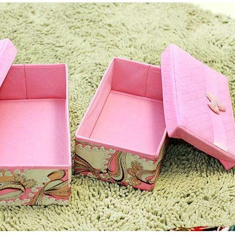 美麗大街【BFD12E4E19EK80】嘉居伴侶龍騰盛世系列-分蓋收納箱粉色小號