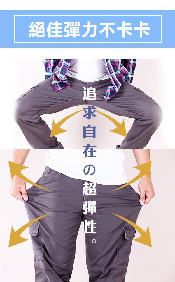 CS衣舖 超彈力 耐磨 高磅數 抗破工作褲 美式大口袋 高磅復刻款 工作褲 深灰/淺灰 [現貨/附發票] 7225