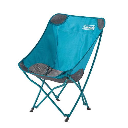 【露營趣】中和 美國 Coleman 水藍療癒椅 休閒椅 折疊椅 童軍椅 大川椅 CM-23503