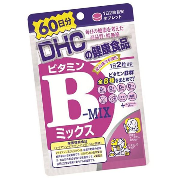 日本 DHC 維他命B群 (60日120粒)