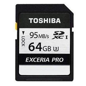*╯新風尚潮流╭* TOSHIBA N401記憶卡 64G 64GB SDXC U3 THN-N401S0640A4