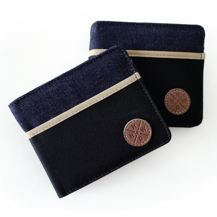 REMATCH - Matchwood Positive 皮夾 錢包 短夾 錢夾 卡夾 牛仔丹寧黑帆布款 Herschel / PORTER / HEADPORTER 可參考