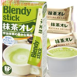 日本AGF Blendy Stick 抹茶歐蕾 (7小包入) [JP520]