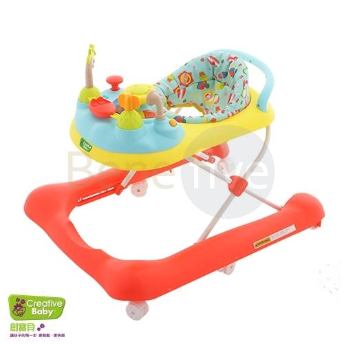 *babygo*美國Creative Baby - 熱帶雨林2 in 1可調式學步車/助步車(Curise n\