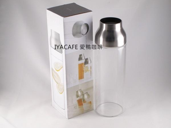 《愛鴨咖啡》Kinto 22999 不銹鋼蓋 透明太空冷?水杯1000ml